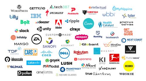 Cloverpop Customer Logos