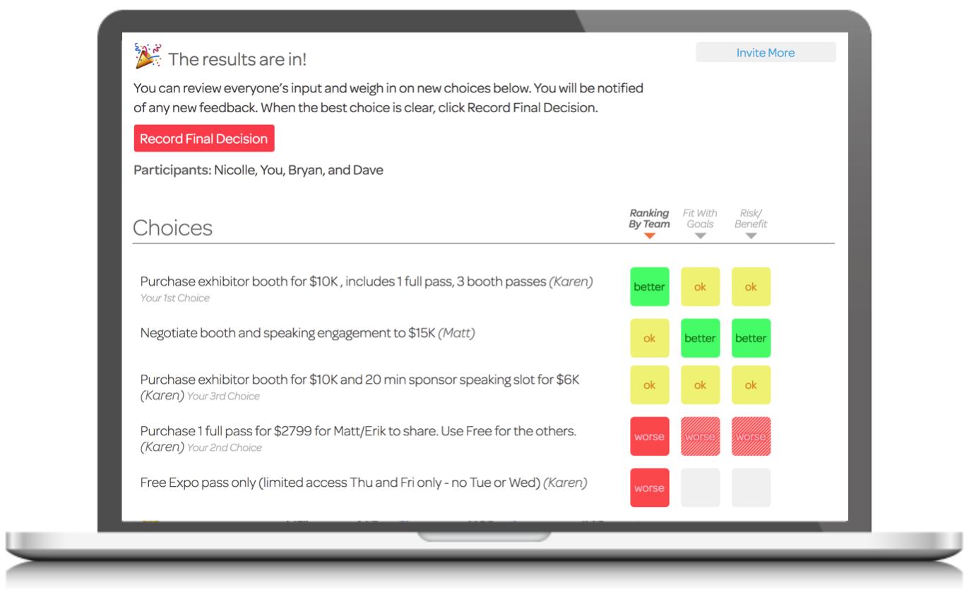 Cloverpop Optimize Decision Making