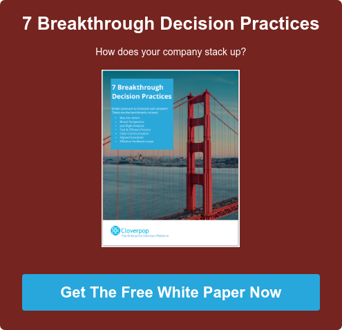 7 Breakthrough Decision Practices How does your company stack up?       Get The Free White Paper Now